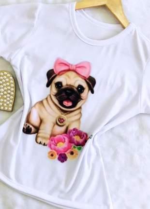 Kit 5 t shirts   blusas femininas qualidade garantida
