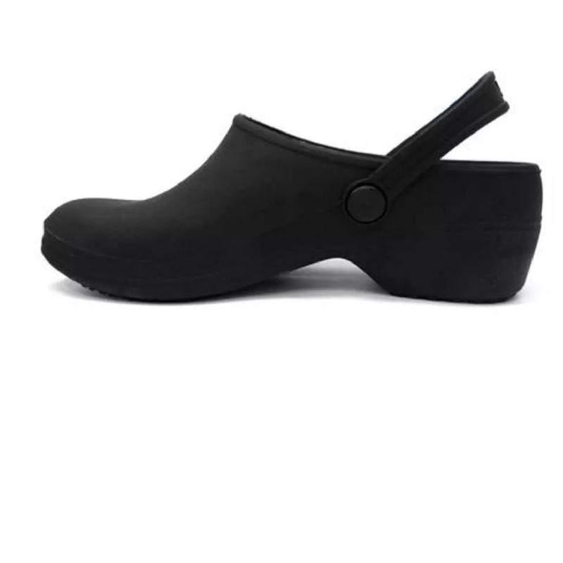 Sapato crocs boa onda hospital enfermagem cozinha preto