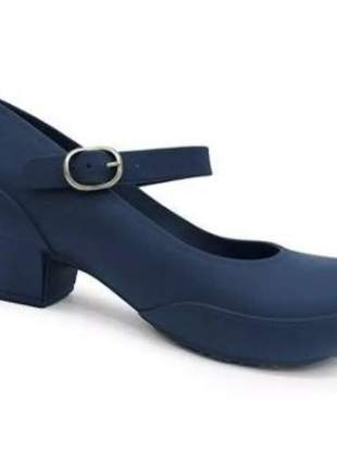 Sapato feminino scarpin boa onda anatômico impermeável  1208