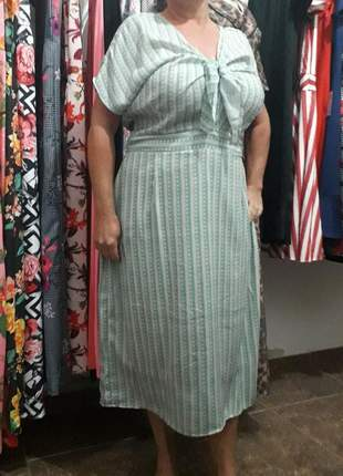 Vestido midi japonês