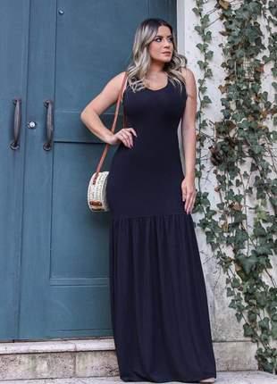 Vestido longo tiê dye