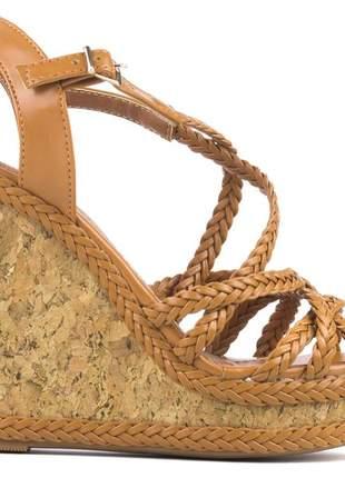 Sandália anabela