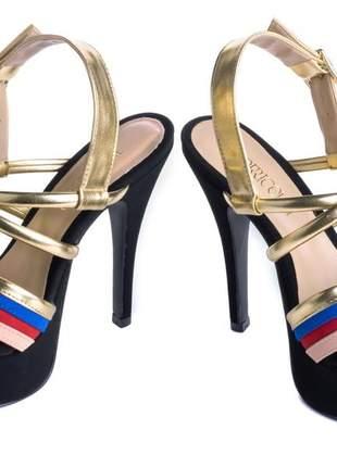 Sandália meia pata