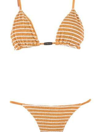 Biquíni new beach summer cortininha caramelo giovanna ewbank