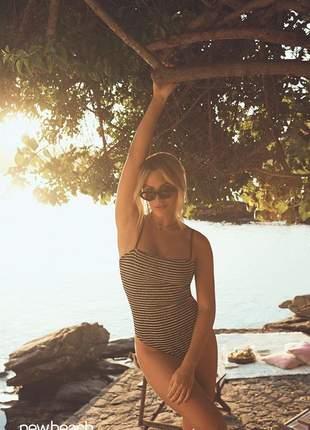 Maiô new beach summer preto giovanna ewbank