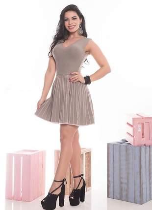 Vestido feminino curto trico tainá