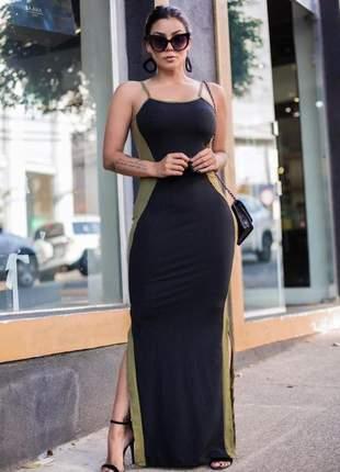 Vestido canelado ✨