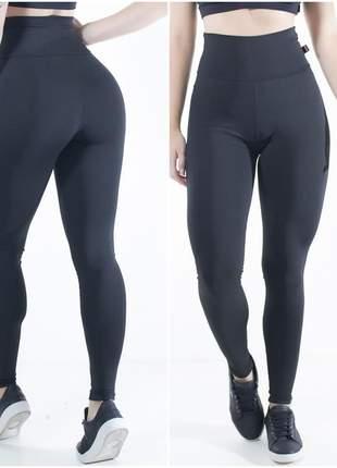 Calça legging fitness em suplex  e cintura alta a pronta entrega