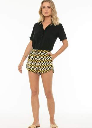 Short totem clay swell amarelo
