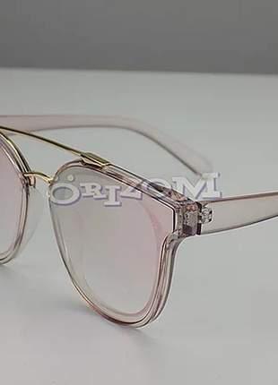 Óculos de sol fashion feminina