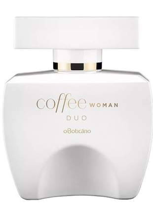 Coffee woman duo desodorante colônia 100ml