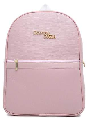Bolsa feminina gc mochila notebook universitária c/ garantia