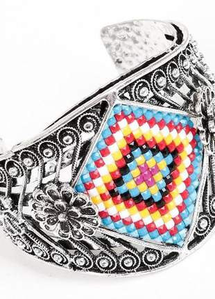 Bracelete feminino prata