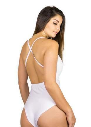 Body dress code moda renda branco