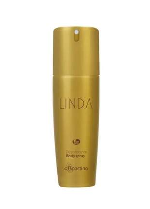 Linda desodorante body spray 100ml