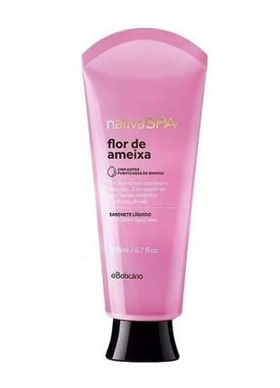 Sabonete líquido corporal nativa spa flor de ameixa 200ml