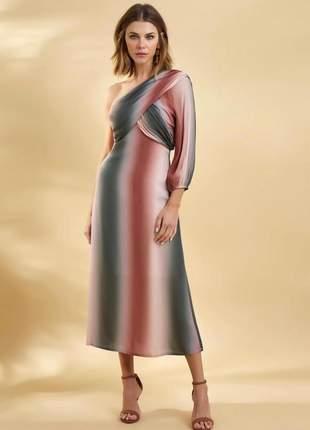Vestido longuete