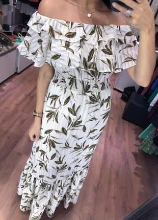 Vestido longo lastex