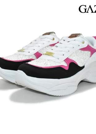 Tenis feminino sneaker gazin casual