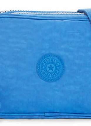 Bolsa kipling dee azul saxony importada 100 % original