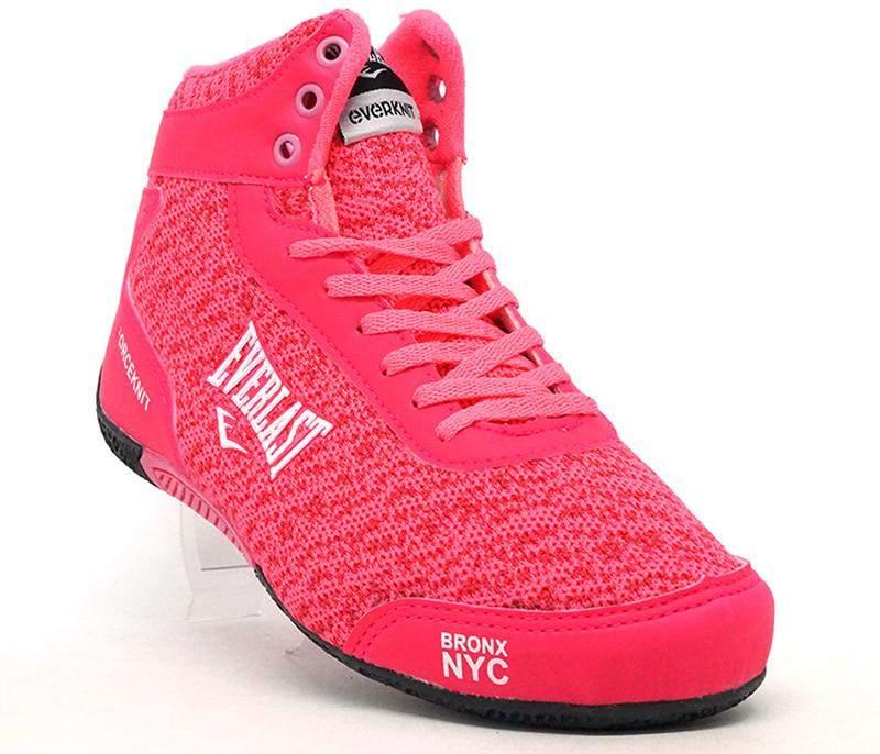 4935570eff Tenis botinha feminino para academia everlast rosa - R  139.90 ...