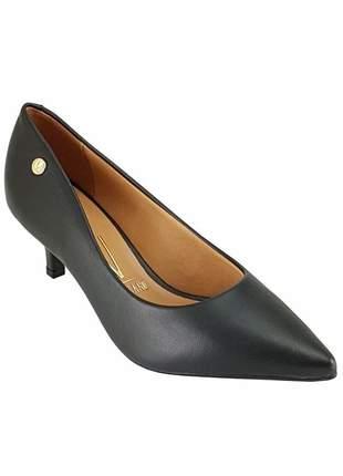 Sapato feminino scarpin vizzano salto baixo 1122.628