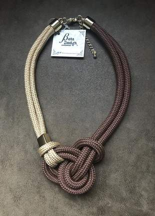 Colar de corda requinte😍