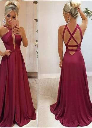 Vestido moda festa casamento